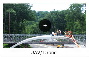 UAV- drone landmark surveys